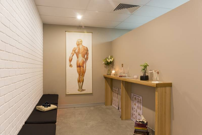 Reception area at Pivotal Motion Physiotherapy